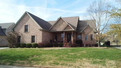 Clarksville Single Family Home For Sale: 2480 Settlers Trce