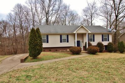Clarksville Single Family Home For Sale: 825 Leigh Ann Dr