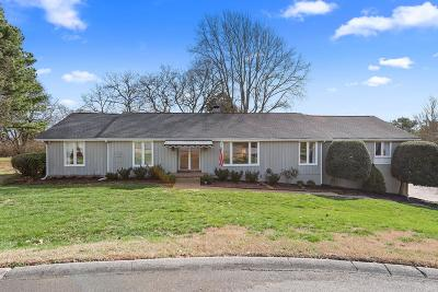 Brentwood Single Family Home Under Contract - Showing: 5003 Regent Dr