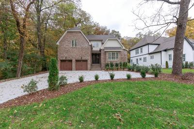 Nashville Single Family Home For Sale: 923 Downey Dr