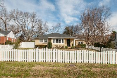 Nashville Single Family Home Under Contract - Showing: 114 Allendale Dr