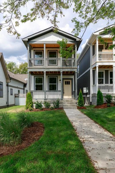 Nashville Single Family Home Under Contract - Showing: 6110 B Louisiana Ave