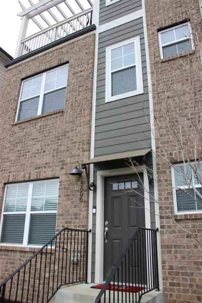 Nashville Condo/Townhouse For Sale: 5606 Morrow Road