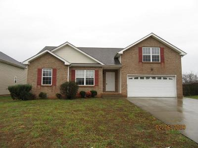 Clarksville Single Family Home For Sale: 1921 Patton Rd