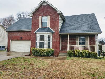 Clarksville Single Family Home For Sale: 3253 Veranda Cir