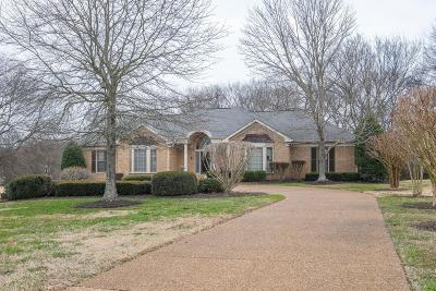 Brentwood Single Family Home For Sale: 1014 Wilson Pike