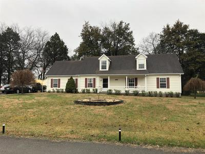 Christiana Single Family Home Under Contract - Showing: 307 Kafir Dr