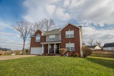 Clarksville Single Family Home For Sale: 3148 Holly Pt