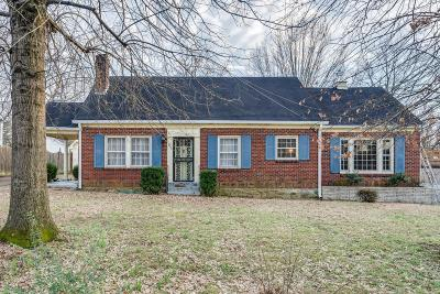 Nashville Single Family Home For Sale: 1000 Dozier Pl