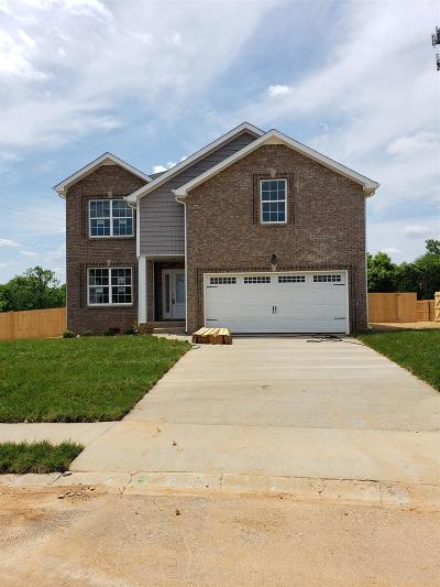Clarksville Single Family Home For Sale: 590 Silver Oak Court