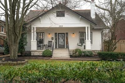 Nashville Single Family Home For Sale: 1513 Clayton Ave