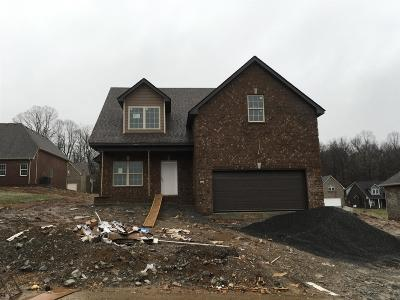 Ashland City Single Family Home For Sale: 52 Lot 52 A