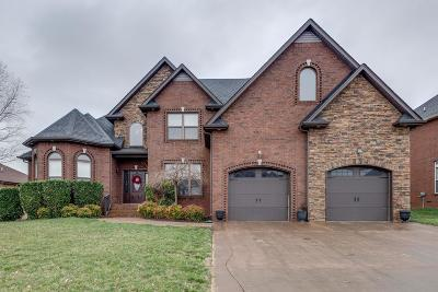 Clarksville Single Family Home For Sale: 1524 Edgewater Ln