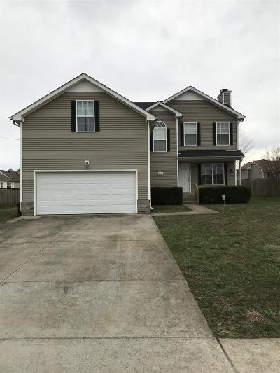 Clarksville Single Family Home For Sale: 3833 Man O War Blvd