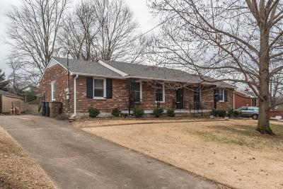 Nashville Single Family Home For Sale: 844 Rose Park Dr