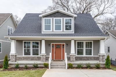 Nashville Single Family Home For Sale: 1012 A Virginia Ave
