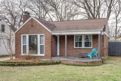 Nashville Single Family Home For Sale: 1811 Stewart Pl