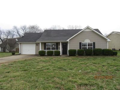 Clarksville Single Family Home For Sale: 1024 Waterford Ct