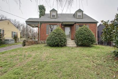 Nashville Single Family Home For Sale: 1221 McAlpine Ave