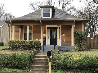 Nashville Single Family Home For Sale: 1716 A Nassau Street