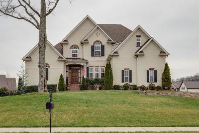 Spring Hill Single Family Home Under Contract - Not Showing: 4053 Miles Johnson Pkwy