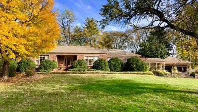 Nashville Single Family Home For Sale: 3622 Knollwood Rd