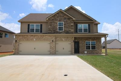 Clarksville TN Single Family Home Under Contract - Showing: $287,500