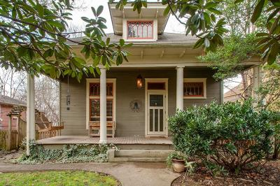 Nashville Single Family Home For Sale: 207 Scott Ave