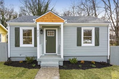 Nashville Single Family Home For Sale: 922 W Greenwood Ave