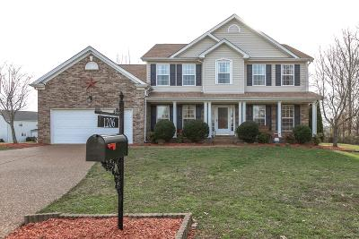 Spring Hill Single Family Home For Sale: 1206 Eagles Rest Ct