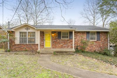 Nashville Single Family Home For Sale: 7229 Willow Creek Dr