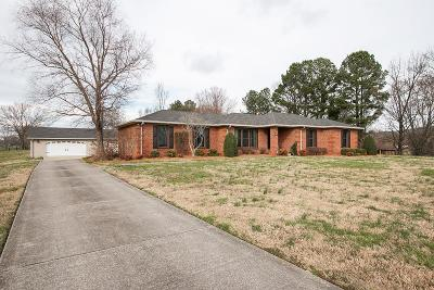 Wilson County Single Family Home For Sale: 5175 Hickory Ridge Rd