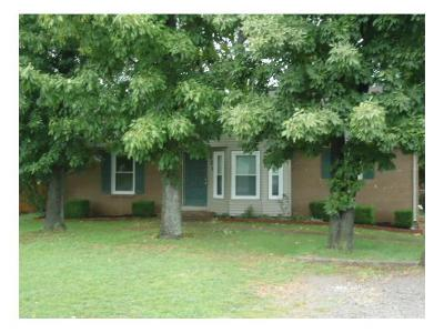 Christian County, Ky, Todd County, Ky, Montgomery County Rental For Rent: 221 Bob White Drive