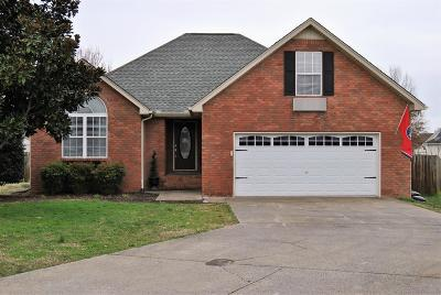 Murfreesboro TN Single Family Home Under Contract - Not Showing: $279,900