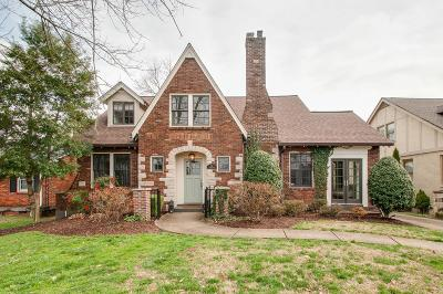 Davidson County Single Family Home For Sale: 232 Cherokee Rd