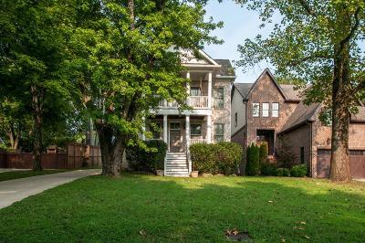 Nashville Single Family Home For Sale: 3813 Hilldale Dr
