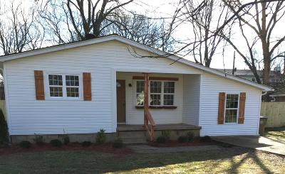 Davidson County Single Family Home For Sale: 302 Nix Dr
