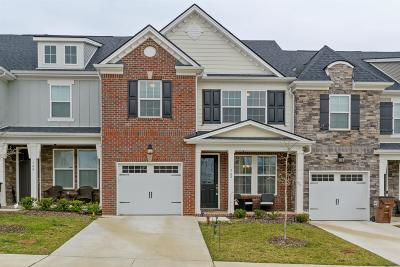 Mount Juliet Condo/Townhouse For Sale: 742 Tennypark Ln