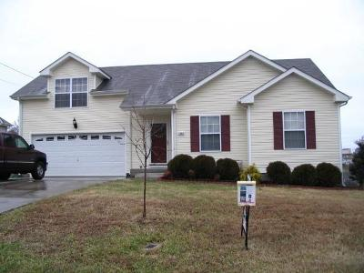 Christian County, Ky, Todd County, Ky, Montgomery County Rental For Rent: 1482 McClardy Road