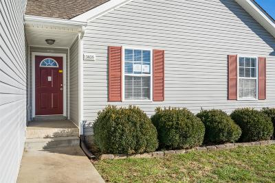 Christian County, Ky, Todd County, Ky, Montgomery County Rental For Rent: 3839 Cannondale Dr