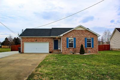 Christian County, Ky, Todd County, Ky, Montgomery County Rental For Rent: 3701 Churchplace Ave
