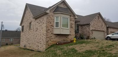 Clarksville Condo/Townhouse For Sale: 1818 Memorial Dr #46
