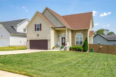 Clarksville Single Family Home For Sale: 3717 Suiter Rd