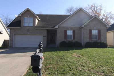 Christian County, Ky, Todd County, Ky, Montgomery County Rental For Rent: 2549 Centerstone Circle