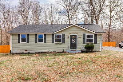 Ashland City Single Family Home Under Contract - Showing: 1330 Randy Rd