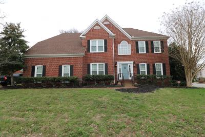 Davidson County Single Family Home For Sale: 117 Newton Nook