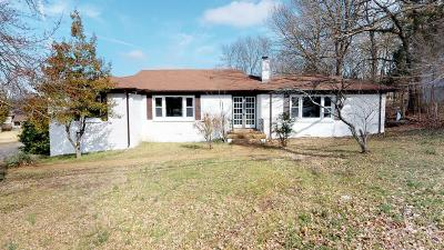 Davidson County Single Family Home For Sale: 3064 Anderson Rd