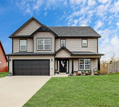 Clarksville Single Family Home For Sale: 1297 Eagles View Dr