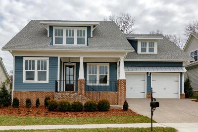 Franklin Single Family Home For Sale: 6056 Maysbrook Lane - Lot 21