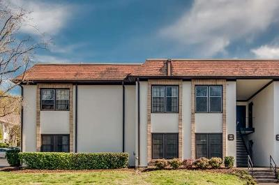 Belle Meade Condo/Townhouse For Sale: 4505 Harding Pike Apt 150